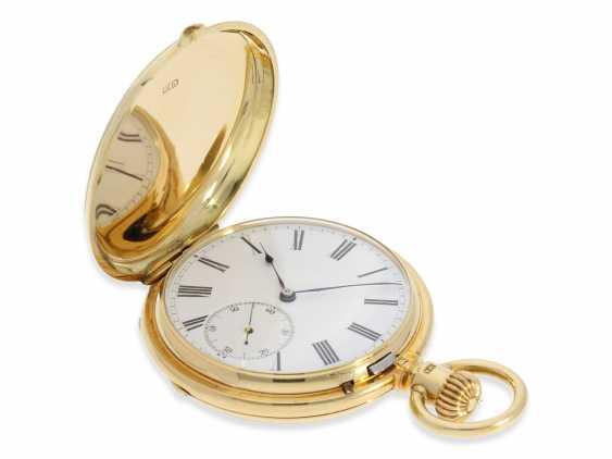 Montre de poche: Glashutte Rare, extrêmement rare Ankerchronometer Moritz Grossmann dans la Qualité 1A, N ° 5203, Verrerie environ 1870 - photo 7
