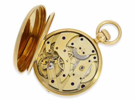 Pocket watch: one of the first Patek Philippe Anker chronometer with crown lift, No. 18438, Geneva, CA. 1860 - photo 4