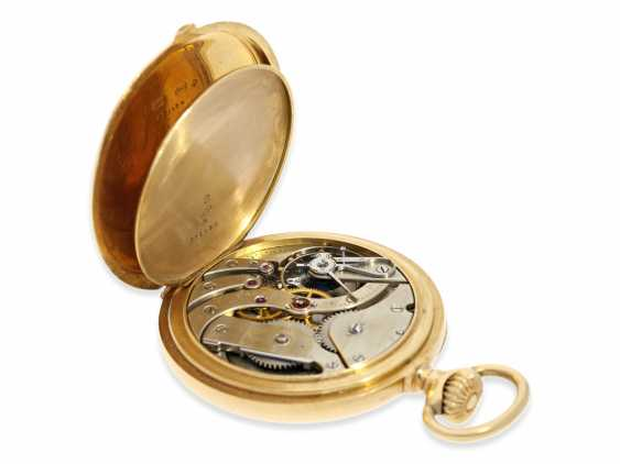 """Pocket watch: very fine, heavy, Patek Philippe Observatory Chronometer 1. Class quality """"EXTRA"""" with excellent test results of the Geneva Observatory, 1901, PP No. 115412 - photo 4"""