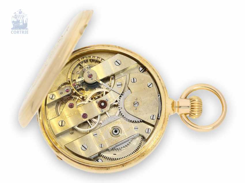 "Pocket watch: early Patek Philippe Anker chronometer in the extremely rare quality ""EXTRA"", No. 71528, CA. 1883 - photo 2"