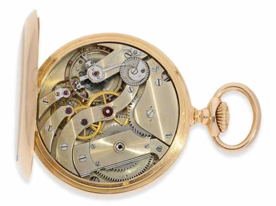 """Pocket watch: very fine Patek Philippe Anker chronometer quality """"EXTRA"""", sold to chronometer maker Rodanet in Paris in 1901 - photo 2"""
