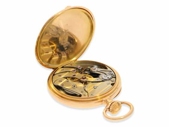 """Pocket watch: very fine Patek Philippe Anker chronometer quality """"EXTRA"""", sold to chronometer maker Rodanet in Paris in 1901 - photo 5"""