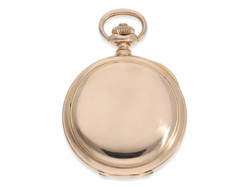 Pocket watch: very heavy Patek Philippe Pocket chronometer No. 90906, probably sold to Russia, CA. 1891 - photo 2