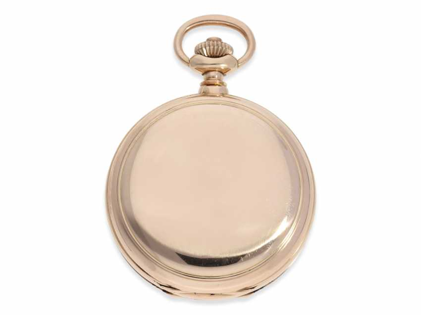 Pocket watch: very heavy Patek Philippe Pocket chronometer No. 90906, probably sold to Russia, CA. 1891 - photo 3