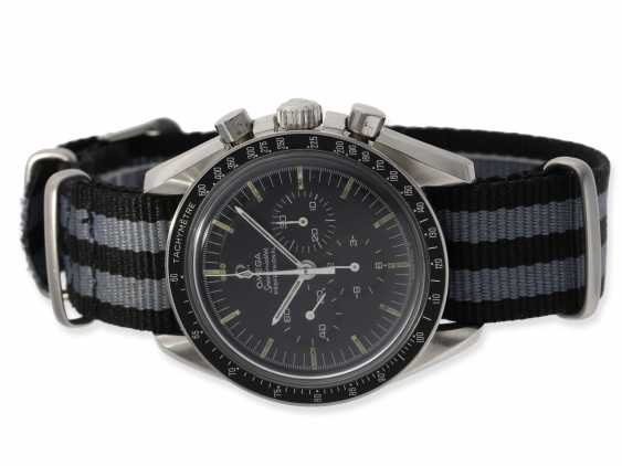 "Watch: sought-after Omega Speedmaster ""Moonwatch"" Chronograph 1968, reference 145022 - 68 ST - photo 1"