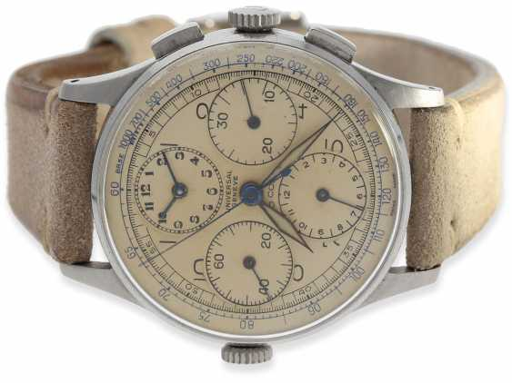 """Watch: sought-after collector's watch, Universal Geneve """"Aero-Compax"""", Ref.22477, approx 1945 - photo 3"""