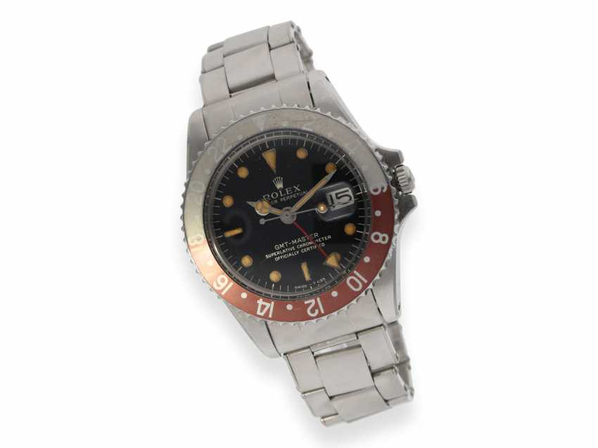 Watch: vintage Rolex GMT-Master Chronometer from 1968, Ref.1675 - photo 2
