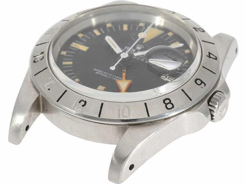 "Watch: sought-after vintage Rolex mens watch, Rolex 1655 Explorer II, 1972, 1. Series, the so-called ""Orange Hand Steve McQueen"", with original box - photo 5"
