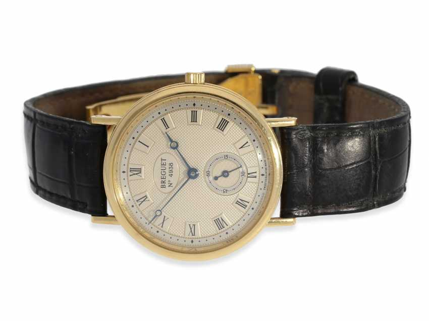 Watch: elegant, high quality men's watch of the Breguet, model Classique, reference 3910, No. B4938G - photo 1