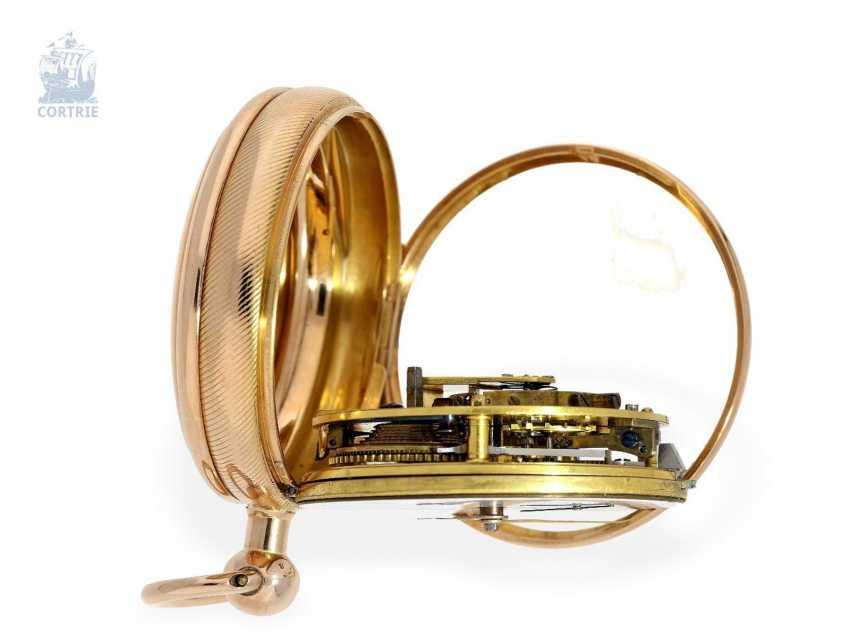 Pocket watch: very fine English Pocket chronometer with chronometer balance wheel according to Pennington, m London No. 5336, London 1812 - photo 3