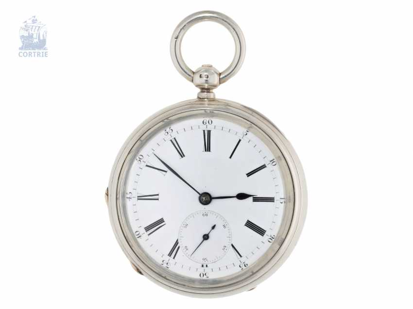 Pocket watch: particularly heavy and technically highly interesting English Pocket chronometers, former noble possession, Robert Pennington, London, movement No. 4-433, Go. No. 4784, CA. 1830 - photo 6