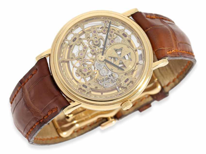"""Watch: elegant vintage Vacheron & Constantin """"Squeleton"""" men's watch Ref. 43038, 70s - photo 4"""