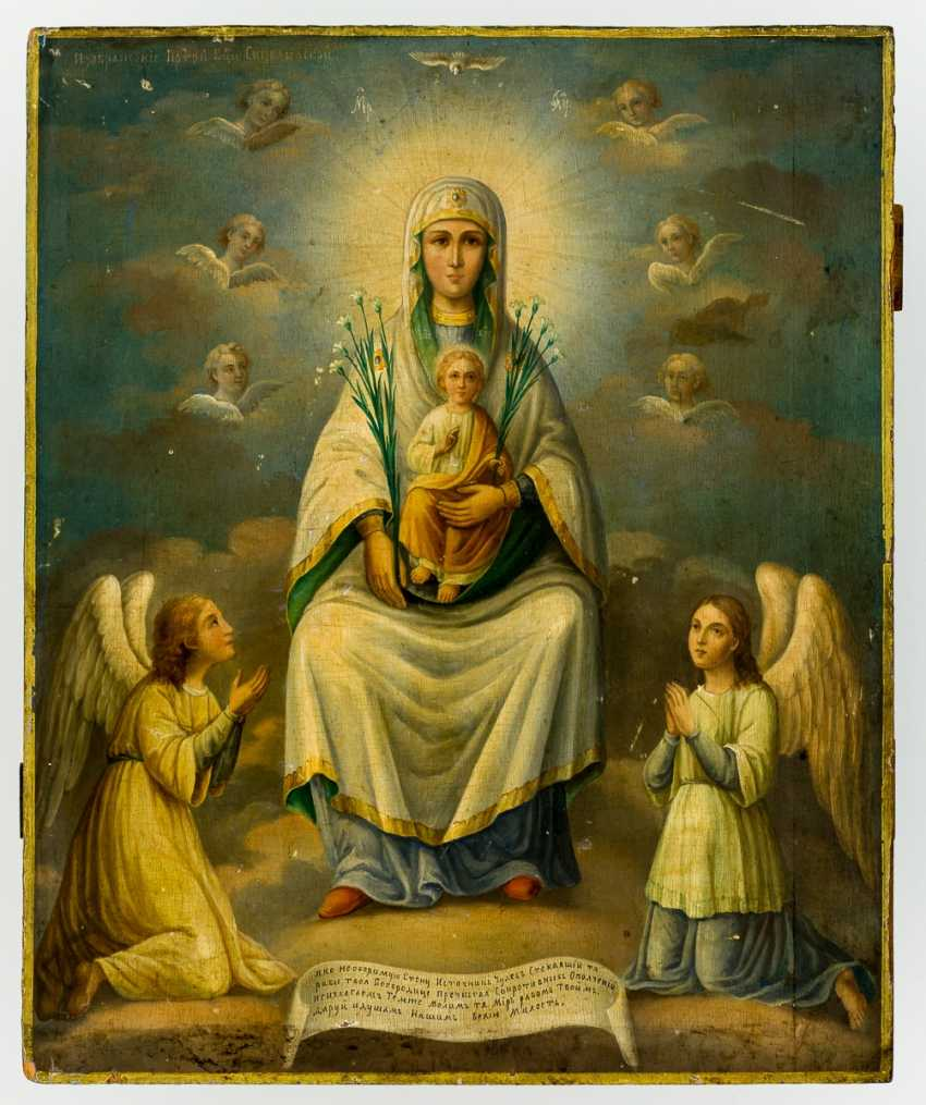 Mother of God Divnogorskaya (Siziliskaya - photo 1