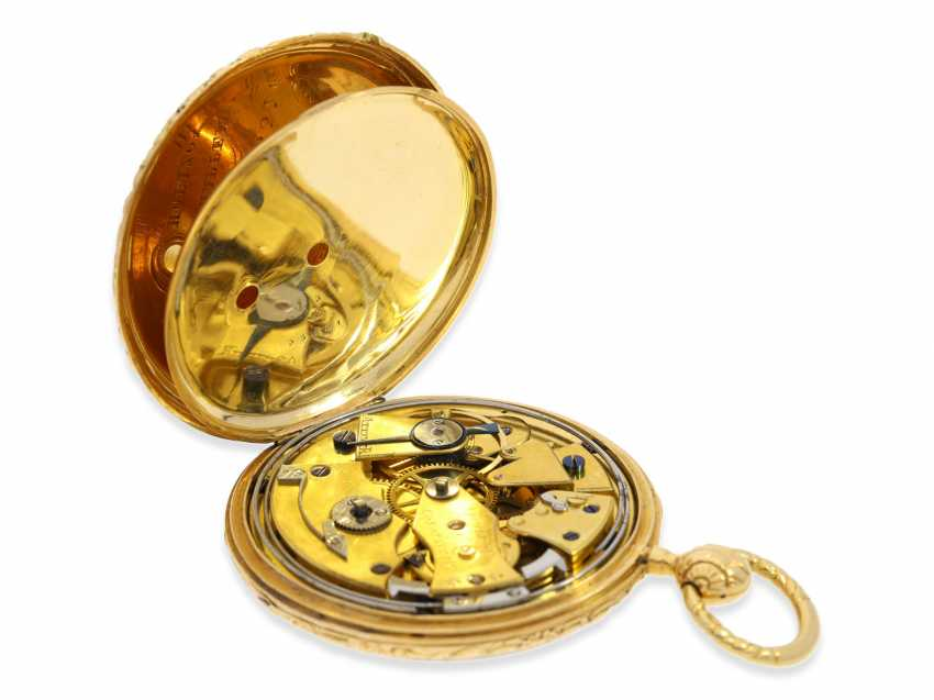 Pocket watch: extremely rare Lepine, the earliest known pocket watch by Vacheron & Constantin with Repetition and date, No. 33761, CA. 1830 - photo 2