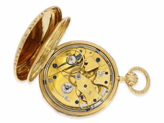 Pocket watch: extremely rare Lepine, the earliest known pocket watch by Vacheron & Constantin with Repetition and date, No. 33761, CA. 1830 - photo 5
