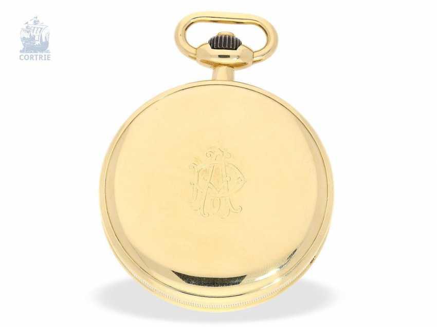 """Taschenuhr: exquisites und sehr seltenes Observatoriums-Chronometer mit Chronograph, Le Roy & Cie, """"Chronometer de Observatoire National de Besancon"""", Chronograph und 30-Minuten-Register, um 1920, Originalbox - photo 4"""