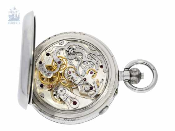"""Pocket watch/deck Watch: a highly fine Observation chronometer with split-seconds chronograph and 15-minute-counter, the so-called """"Split Seconds Deck Chronometer"""" Ulysse Nardin, No. 17751, C. 1940 - photo 2"""