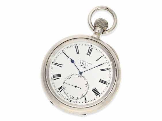 Pocket watch: extremely rare Observation chronometers for the French Navy, Leroy & Cie Paris No. 21150, CA. 1920 - photo 2