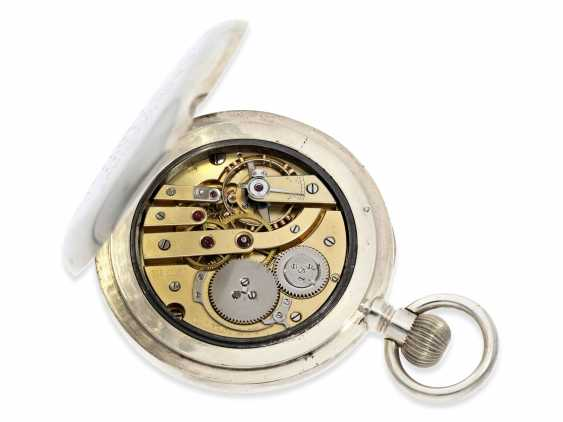 Pocket watch: extremely rare Observation chronometers for the French Navy, Leroy & Cie Paris No. 21150, CA. 1920 - photo 5