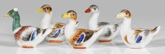 Five Miniature Ducks - photo 1