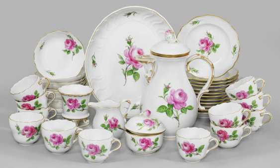 """Coffee service with decor """"Red Rose"""" - photo 1"""