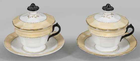Pair of large lids cups - photo 1
