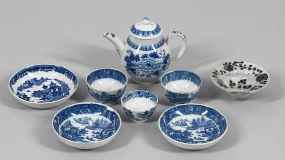 Eight Blue-And-White Miniature Vessels - photo 1