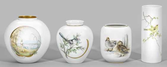 Four vases with paintings of Brigitte Holtz - photo 1