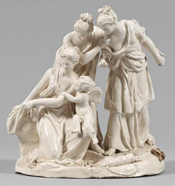 """Figure group """"the Three graces with Cupid"""" - photo 1"""