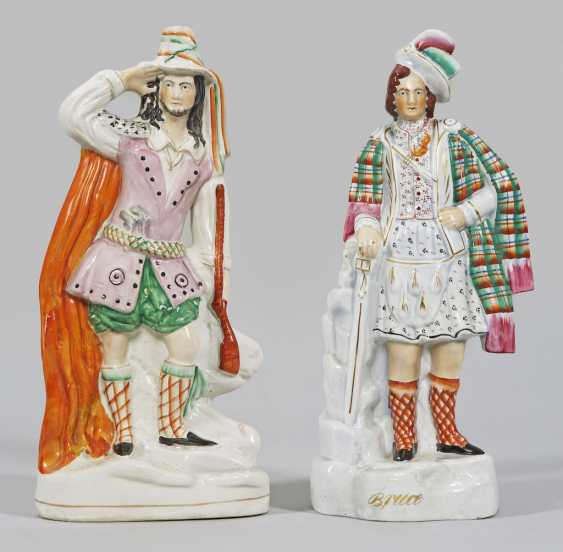 Two Staffordshire Figures - photo 1