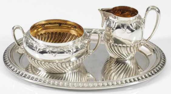 Cream jug and sugar bowl - photo 1