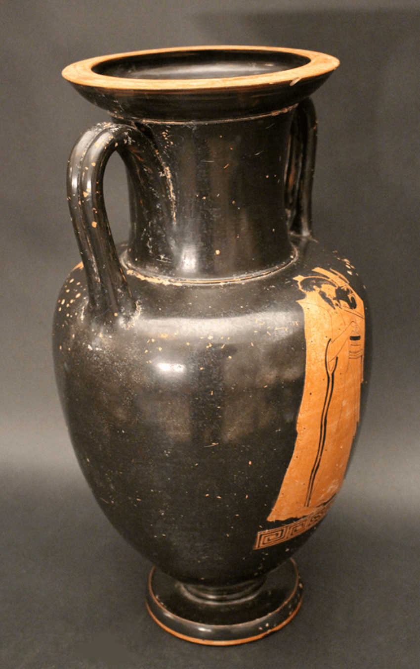 A large Greek anphora vase in Attic manner - photo 3