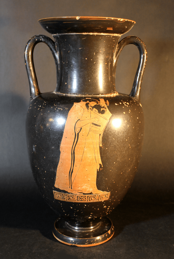 A large Greek anphora vase in Attic manner - photo 2