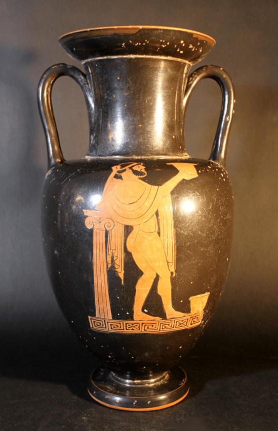 A large Greek anphora vase in Attic manner - photo 1