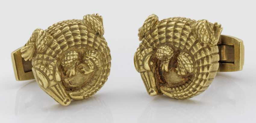 Pair of cufflinks, Barry KIESELSTEIN-Cord - photo 1