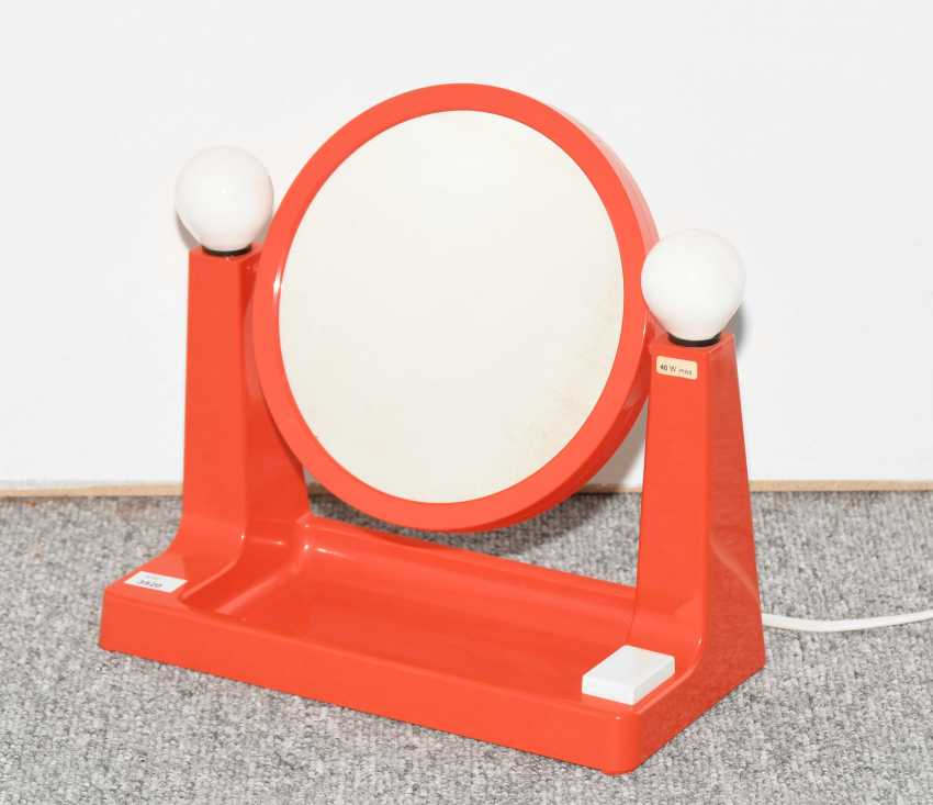 Table Mirror/Light - photo 1