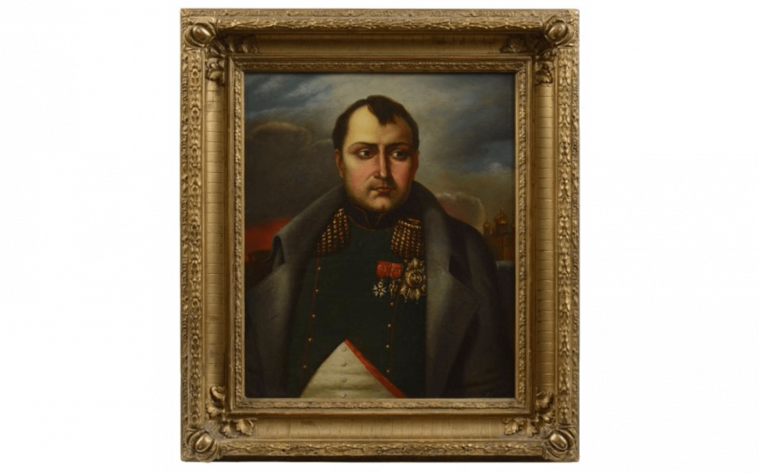 Russian school of the Nineteenth century. The emperor Napoleon... - photo 1
