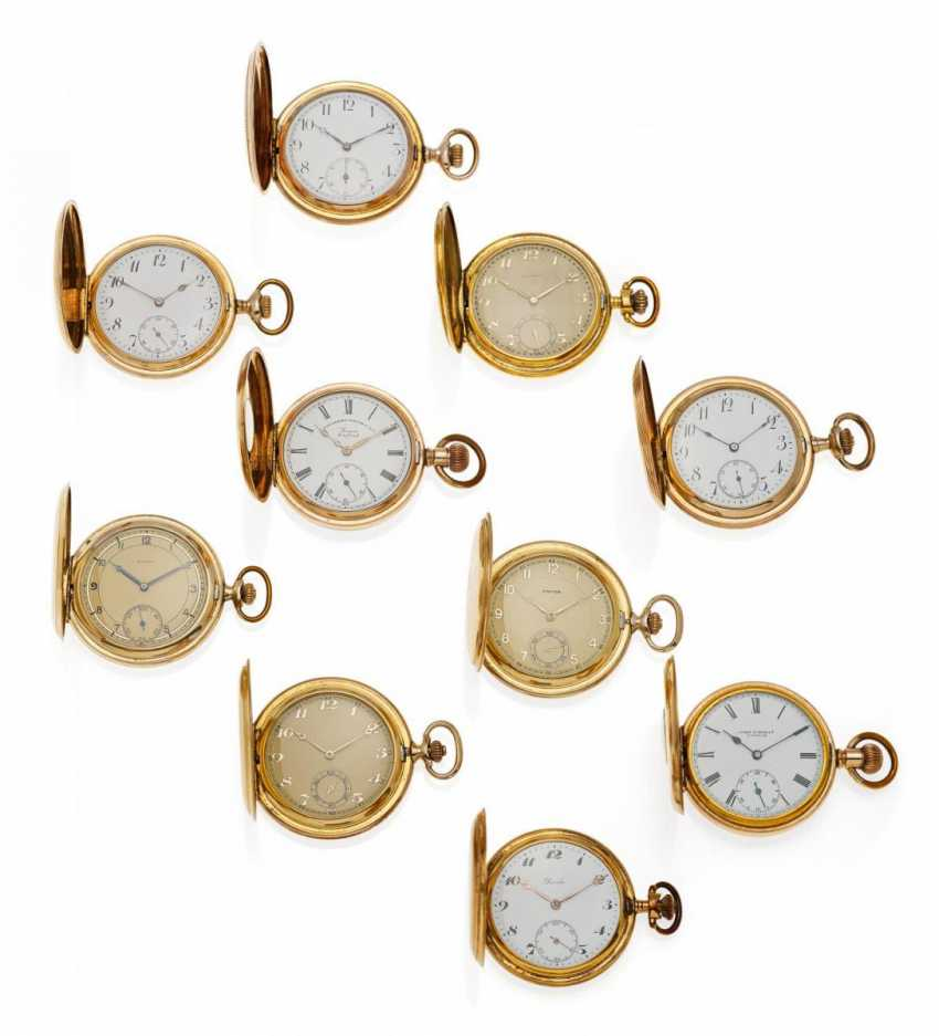 GROUP OF 10 POCKET WATCHES - photo 1