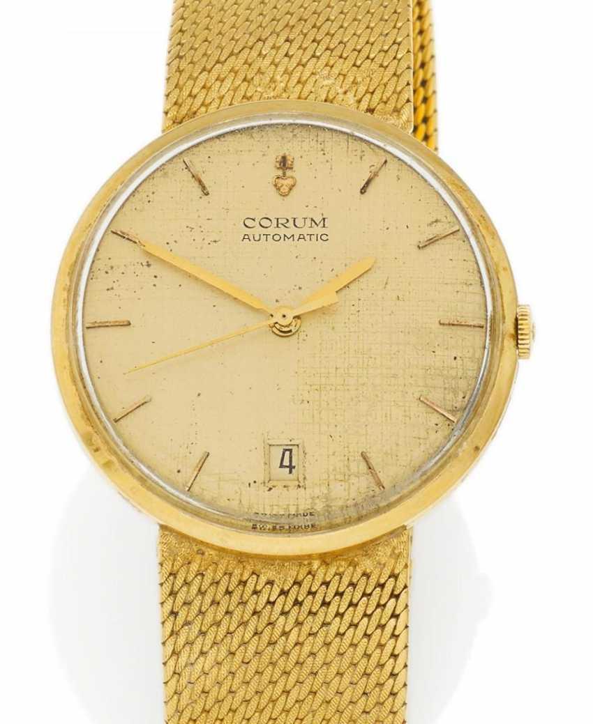 Men's watch. Automatic. 750/- yellow gold - photo 1