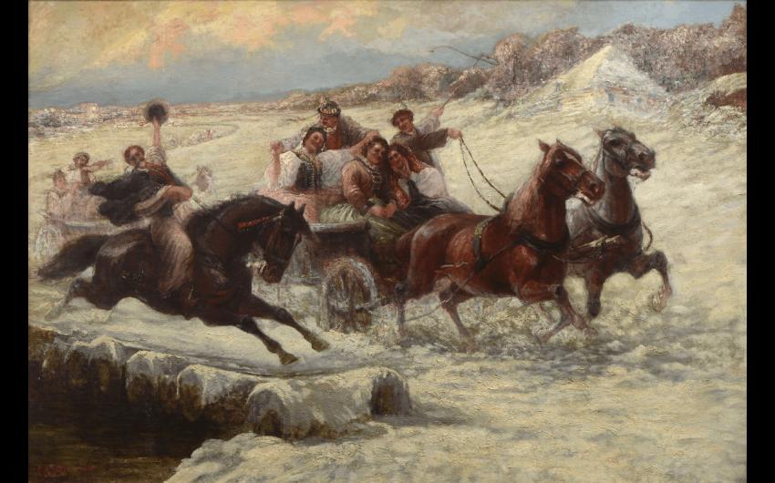 STOJANOV, Piotr (1857-1957). Scene popular...