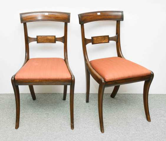 Set of eight chairs and two arm chairs - photo 1