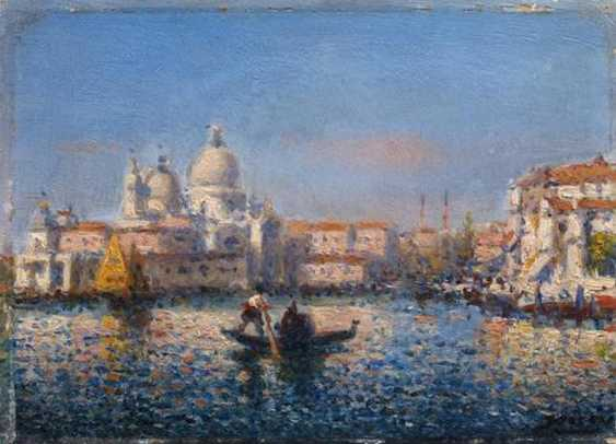 Two paintings of views of Venice - photo 1