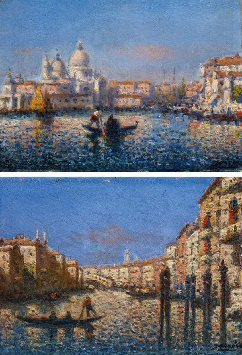 Two paintings of views of Venice - photo 2