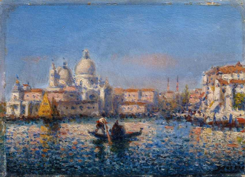Two paintings of views of Venice - photo 3