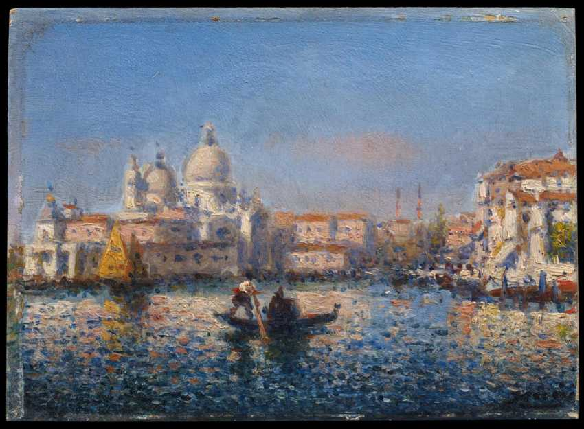 Two paintings of views of Venice - photo 4