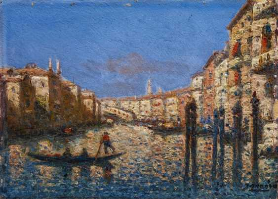 Two paintings of views of Venice - photo 6