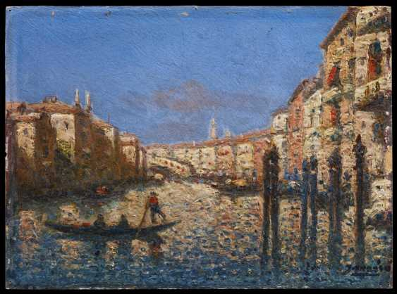 Two paintings of views of Venice - photo 7