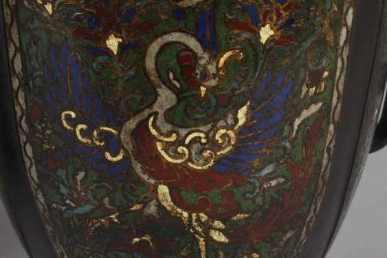 Pair Of Vases, Cloisonné - photo 4