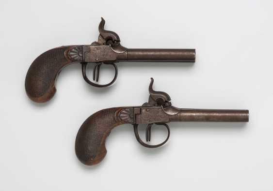 1 Pair Of Percussion Pistols - photo 1
