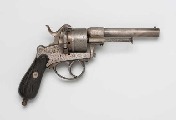 Pin fire revolver - photo 1